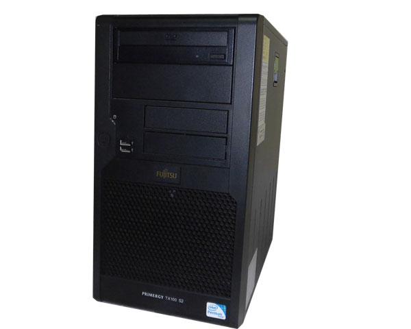 富士通 PRIMERGY TX100 S2 PGT1022H2【中古】Pentium-G6950 2.8GHz/2GB/160GB×1