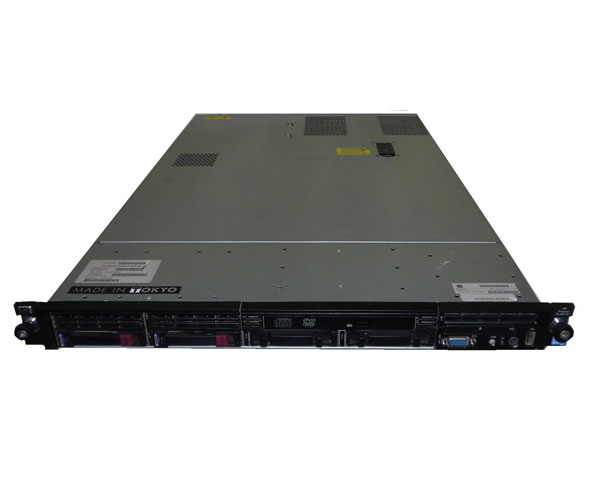 HP ProLiant DL360 G7 579237-B21【中古】Xeon 6core X5670 2.93GHz×2/8GB/72GB×2