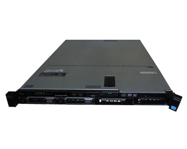 外観難あり DELL PowerEdge R320【中古】Xeon E5-2420 1.9GHz/24GB/HDDなし