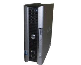 中古パソコン Vista DELL OPTIPLEX 760 USFF Core2Duo-E7400 2.8GHz/2GB/80GB/DVD-ROM
