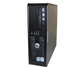 中古パソコン デスクトップ Vista DELL OPTIPLEX 755 SFF Core2Duo E6550 2.33GHz/512MB/80GB/DVDマルチ