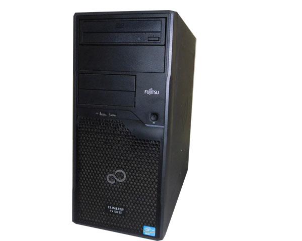 富士通 PRIMERGY TX100 S3 PYT10PT3S【中古】Xeon E3-1220 V2 3.1GHz/4GB/1TB×2