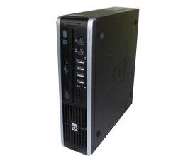 ACアダプタなし OSなし 中古パソコン デスクトップ ウルトラスリム HP compaq 8000 Elite USDT (AU248AV) Core2Duo-E8500 3.16GHz/2GB/HDDなし/DVDマルチ
