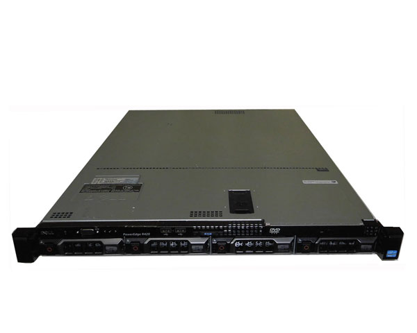 DELL PowerEdge R420【中古】Xeon E5-2440 2.4GHz/16GB/300GB×3