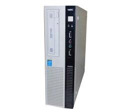 Windows8.1 Pro 64bit NEC Mate MJ34LL-H (PC-MJ34LLZZ1FSH) Core i3-4130 3.4GHz 4GB 250GB DVDマルチ 中古パソコン デスクトップ 本体のみ