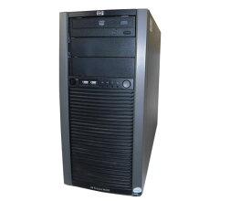 中古 HP ProLiant ML310 G5p 445343-B22 Xeon E3120 3.16GHz 2GB 160GB×2 (SATA) DVD-ROM AC*2