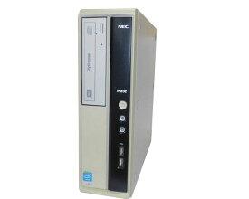 Windows8.1 Pro 64bit NEC MATE MJ19EL-G (PC-MJ19ELZZJBSG) Celeron G465 1.9GHz 2GB 250GB DVDマルチ 中古パソコン デスクトップ 本体のみ