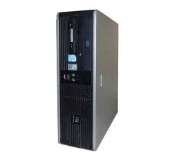 WindowsXP 中古パソコン デスクトップ HP dc5700 SFF (EW290AV) Celeron-420 1.6GHz/1GB/80GB/DVDコンボ