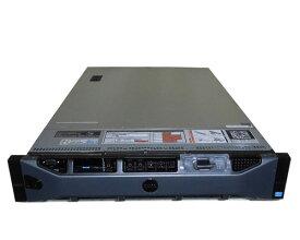 中古 DELL PowerEdge R720 Xeon E5-2603 1.8GHz 16GB 300GB×2(SAS 2.5インチ) DVDマルチ AC*2 PERC H710 Mini