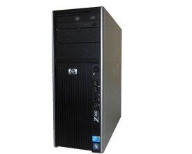 Windows7 Pro 64bit HP Workstation Z400 VS933AV 空冷モデル 後期型 Xeon W3690 6Core 3.46GHz 12GB 500GB DVD-ROM Quadro 2000 中古ワークステーション