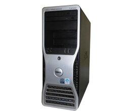 OSなし DELL PRECISION T3400 中古ワークステーション Core2Duo E6850 3.0GHz 4GB 250GB DVDマルチ FX570