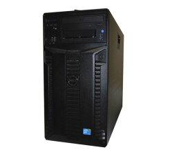 中古 DELL PowerEdge T410 Xeon E5506 2.13GHz×2 4GB 500GB×2 (SAS) DVD-ROM AC×2