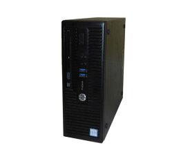 Windows10 Pro 64bit HP ProDesk 400 G3 SFF (N4P96AV) 第6世代 Core i3-6100 3.7GHz 4GB 500GB DVD-ROM 中古パソコン デスクトップ 中古PC 本体のみ