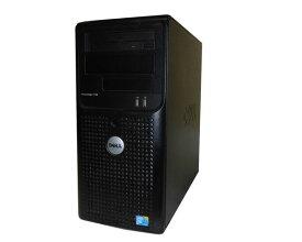 中古 DELL PowerEdge T100 Core2Duo E7400 2.8GHz 4GB 500GB(SATA) DVD-ROM SAS 6iR