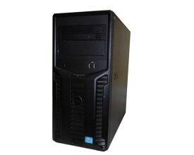 中古 DELL PowerEdge T110-2 Xeon E3-1220 3.1GHz 4GB HDDなし DVD-ROM