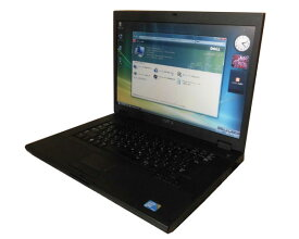 難あり Vista DELL Latitude E5500 中古ノートパソコン Core2Duo T7250 2.0GHz 2GB 120GB