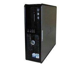 Vista DELL OPTIPLEX 745 SFF Core2Duo 6300 1.86GHz 2GB 80GB DVDマルチ 中古パソコン