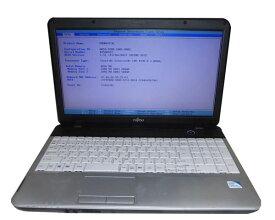 難あり OSなし富士通 LIFEBOOK A512/F (FMVNA7F36) Celeron B730 1.8GHz 4GB 320GB DVDマルチ 中古ノートパソコン