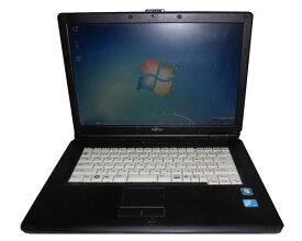 外観難あり OSなし 中古ノートパソコン 富士通 LIFEBOOK FMV-A8295 (FMVNA1C3G) Core2Duo P8700 2.53GHz/2GB/160GB/DVD-ROM