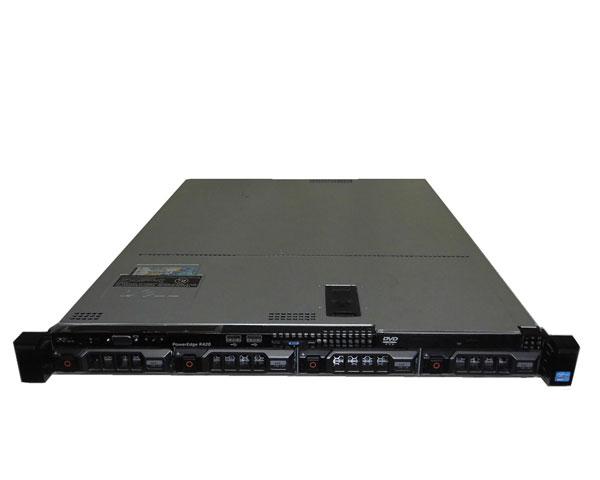 DELL PowerEdge R420【中古】Xeon E5-2450 2.1GHz/16GB/1TB×3/AC*2