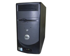 OSなし DELL Dimension 1100【中古】Celeron D-2.53GHz/512MB/80GB/DVDコンボ