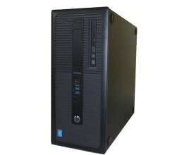 Windows10 Pro 64bit 中古パソコン デスクトップ タワー型 HP EliteDesk 800 G1 TWR (C8N27AV) Core i7-4790 3.6GHz 16GB 500GB DVDマルチ Geforce GTX 750 Ti