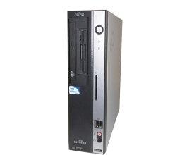 中古パソコン デスクトップ Vista 富士通 FMV-D5280 (FMVDC2A0C1) Celeron 430 1.8GHz 1GB 80GB DVD-ROM