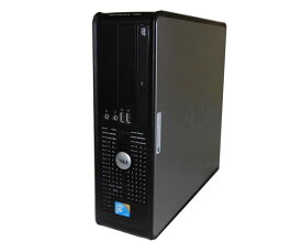 中古パソコン デスクトップ Vista DELL OPTIPLEX 760 SFF Core2Duo E7500 2.93GHz 2GB 80GB DVD-ROM
