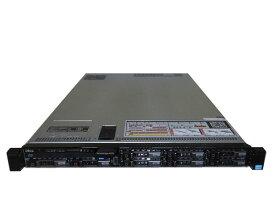 中古 DELL PowerEdge R620 Xeon E5-2650L V2 1.7GHz×2 128GB 300GB×3(SAS 2.5インチ) DVD-ROM AC*2 PERC H710P Mini