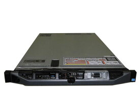 中古 DELL PowerEdge R620 Xeon E5-2630 2.3GHz 8GB 146GB×2(SAS 2.5インチ) AC*2 PERC H710 Mini