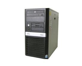 富士通 PRIMERGY ECONEL 100 S2 PGE1022DSPDC-E2180 2.0GHz/1GB/80GB×2【中古サーバー】【タワー型】