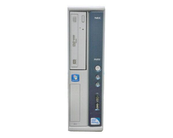 Windows7-Pro NEC Mate MK32RA-C【中古】Pentium E5800 3.2GHz/2GB/250G/DVDマルチ