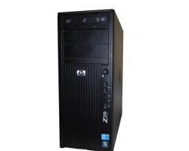 外観難あり OSなし HP Workstation Z200 CMT VA206AV Core i5-680 3.6GHz 4GB HDDなし DVD-ROM Quadro 2000 中古ワークステーション タワー型