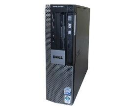 Vista DELL OPTIPLEX 960 SFF Core2Duo E8600 3.33GHz 4GB 160GB DVDマルチ 中古パソコン デスクトップ 本体のみ