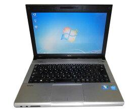 難あり ACアダプタ欠品 OSなし NEC VersaPro VK15EB-G (PC-VK15EBZCG) Celeon-1007U 1.5GHz 2GB 320GB 光学ドライブなし 12.1インチ モバイルPC 中古ノートパソコン