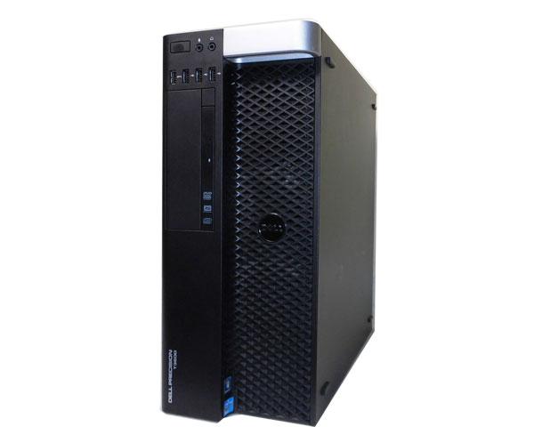 DELL PRECISION T3600 Windows 7 中古ワークステーション Xeon E5-1660 3.3GHz 6Core/16GB/1TB×2/Quadro K600