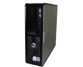 中古パソコン デスクトップ Vista DELL OPTIPLEX 755 SFF Core2Duo E6550 2.33GHz/3GB/80GB/DVDコンボ