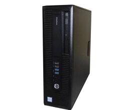 Windows10 Pro 64bit HP EliteDesk 800 G2 SFF (L1G76AV) Core i7-6700 3.4GHz 16GB 1TB DVD-ROM Geforce GFX GT730 中古パソコン デスクトップ ビジネスPC 高性能 ハイスペック