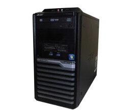 Windows7 Pro 64bit 中古パソコン デスクトップ タワー型 acer VERITON M4630G Core i7-4790 3.6GHz/8GB/500GB/DVDマルチ/Geforce GTX 750 Ti