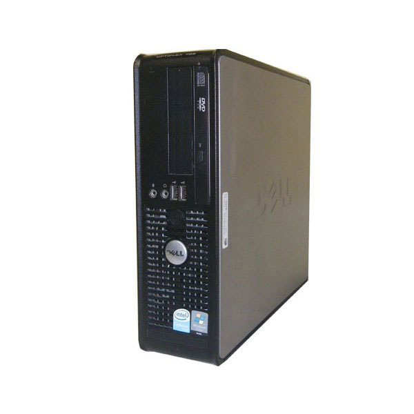 中古パソコン デスクトップ 本体のみ WindowsXP DELL OPTIPLEX 755 SFF PDC-E2160 2.0GHz/1GB/80GB/DVD-ROM