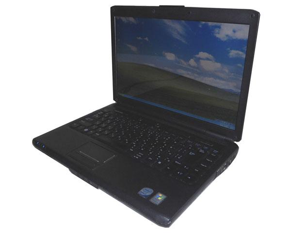 中古ノートパソコン WindowsXP DELL Vostro 1400 Core2Duo-T7250 2.0GHz/4GB/160GB/コンボ/14.1インチ WXGA+(1440×900)