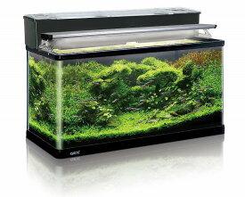 GEX ラピレスRV90 LEDセット曲げガラス水槽