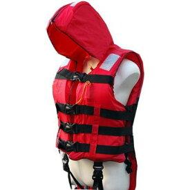 水害・津波対策用 防災頭巾付救命衣 カザワモデル A-1大人用 取り寄せ商品