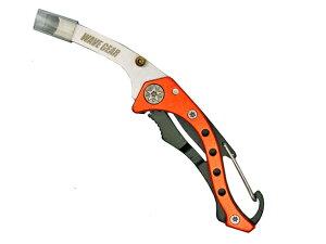 折り畳み式イカ締めツール エギングブレード オレンジ KP-276 スクイッドブレード WAVE GEAR 釣り具