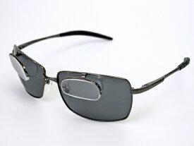 冒険王 シフトアップシニア2 BFL-2S 老眼鏡付き偏光サングラス ソフト布袋&メガネ拭き付