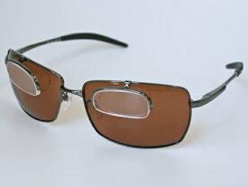 冒険王 シフトアップシニア2 BFL-2B 老眼鏡付き偏光サングラス ソフト布袋&メガネ拭き付
