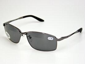 老眼鏡入偏光サングラス ケース&メガネ拭き付 冒険王 バイフォーカルスポーツ BFS-5S