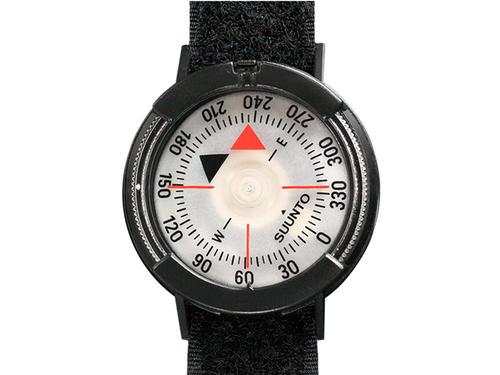 コンパス SUUNTO M-9 BLACK/BLACK NH WITH  SS004403001 スント M-9 面ファスナーリストストラップ付 (日本正規品)