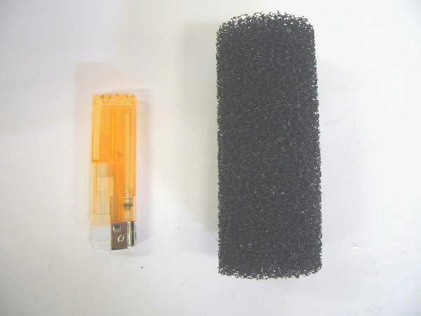 ストレーナーカバー直径5×長さ12cm 粗目 2個 【送料無料】