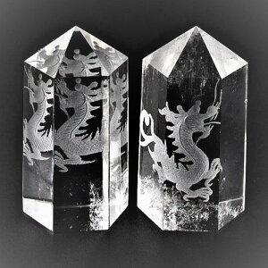 水晶彫刻ポイント 四神獣 五爪龍 1個売り 置物 風水 パワーストーン